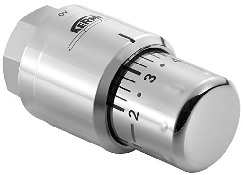 Kermi Design-Thermostatkopf chrom; ZV00380001