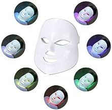 Led Face Mask - MyM 7 Color Photon Light Therapy Skin Rejuvenation Facial Skin Care Mask
