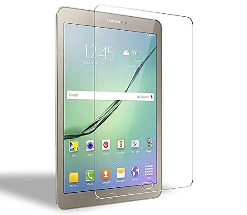 WEOFUN 2 Stück Panzerglas Schutzfolie für Samsung Galaxy Tab S3/S2 9.7 [0.33mm, Anti-Kratzen, Anti Fingerprint, 9H Festigkeit]