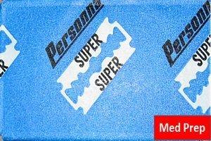 5 Personna Med Prep razor blades (1 pack)