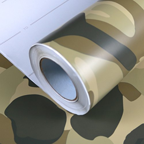 Allvi Wrapping Film Folie Camouflage Desert Car Wrapping Auto Folie