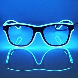 0f0f1131f4 GCBTECH El Alambre Gafas LED Luz de Neón Alambre Novedad Shutter Gafas con  Control de vozpara