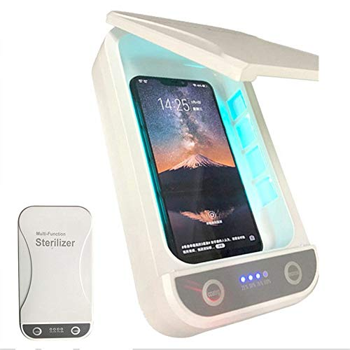 Cell Phone Sanitizer Box, Portable Smart Phone Sanitizer, met USB Charging, voor iPhone IOS Android en kleine accessoires