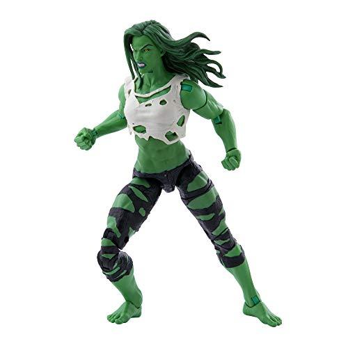 Hasbro Marvel Legends Series Avengers Figurine She-Hulk 15,2 cm et 3 Accessoires pour Enfants à partir de 4 Ans