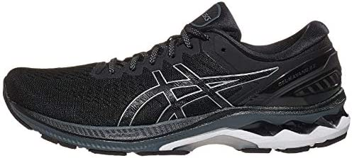ASICS Men s Gel Kayano 27 Running Shoes 10M Black Pure Silver product image