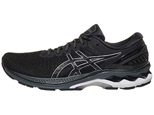 ASICS Men's Gel-Kayano 27 Running Shoes,11.5 Black/Pure Silver