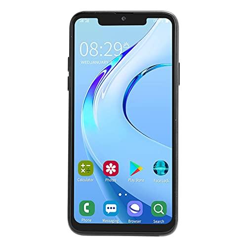 Kafuty-1 6.5 Pulgadas MTK6580 Pantalla de explosión Teléfono Inteligente 1 + 16G Tarjeta Dual Doble Modo de Espera 2MP 5MP Cámara Soporte para teléfono móvil para WiFi, GPS, Bluet(Enchufe de la UE)