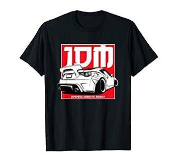 JDM Badge Japanese Drift Car Tuning Automotive Gift 86 T-Shirt
