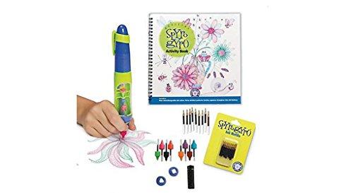 Hog Wild Spyro Gyro 3D Drawing Pen , Activity Book and Ink Refills Bundle Set