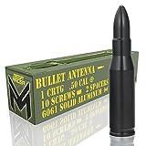 Mega Racer Black 338 Cal Bullet Style Antenna...