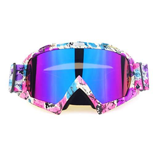 Jackallo Gafas de Motocross Gafas de Motocicleta Gafas Protectoras a Prueba de Viento para Moto Moto de Cross ATV para Hombre Mujer Juventud