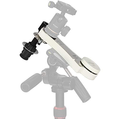 Omegon Monturas para cámara Reflex Mini Track LX3 N - Seguimiento de Viaje de rastreo sin energía para astrofotografía, fotografía panorámica y de intervalos de Tiempo