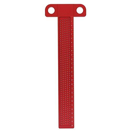 T型定規 T型スコヤ 木工 木工定規 直接マーキングできる定規 直角型 ゲージ 測定 高精度 アルミ合金 大工ケガキ工具 木工スクライブ (T-260)