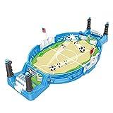 Rock88 Juego de Mesa de Fútbol Juego para Toda la Familia Fiesta 2 Jugadores En Interiores Promueve La Amistad para Niños, Adultos Juego de Mesa