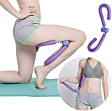ITODA Thigh Master & Butt Leg Arm Toner Trimmer Exerciser Thin Body Home Gym Resistance Chest Slimming Fitness Trainer Sports Muscle Relaxer Massager Workout Tools (Purple)