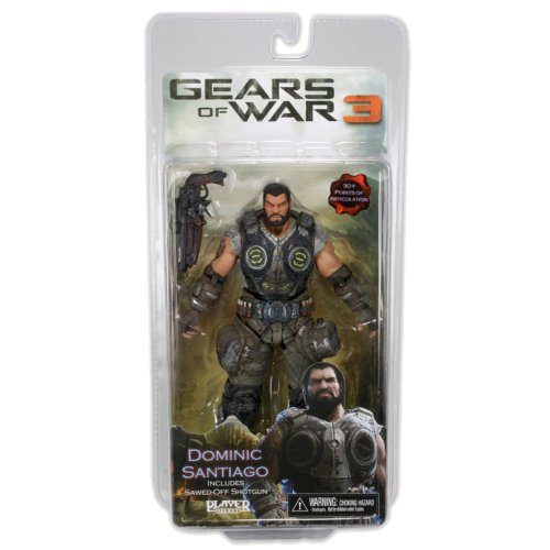 Gears of War 3 Series 2 Dominic Santiago Action Figure