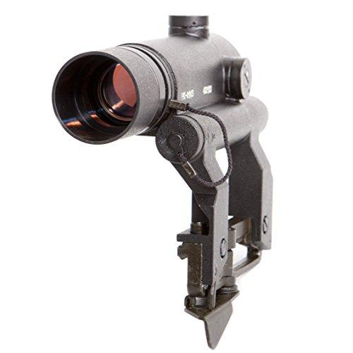 PK-01 VS. Red Dot Sight. Rifle Scope Collimator for Saiga. Co-Witness. 1 MOA. Original by BelOMO. Combloc
