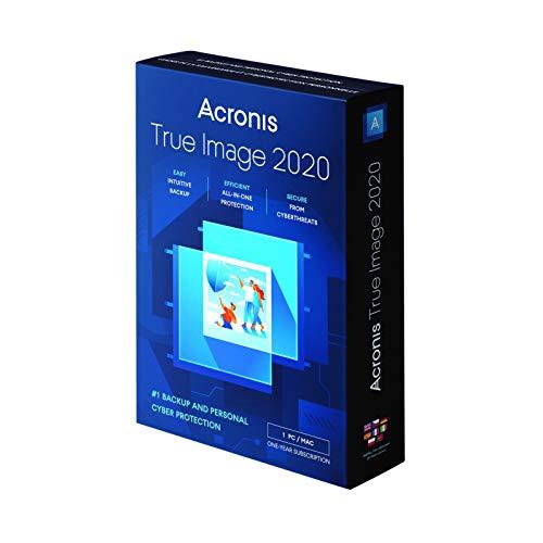 Acronis True Image 2020, Datensicherung-Software, englisch, für 1 PC, TIH3B2UKS