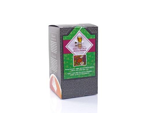 KOBU-TEE + Pyramidenbeutel »Kräutertee Tulsi Orange-Ingwer natürlich« 1 Pack