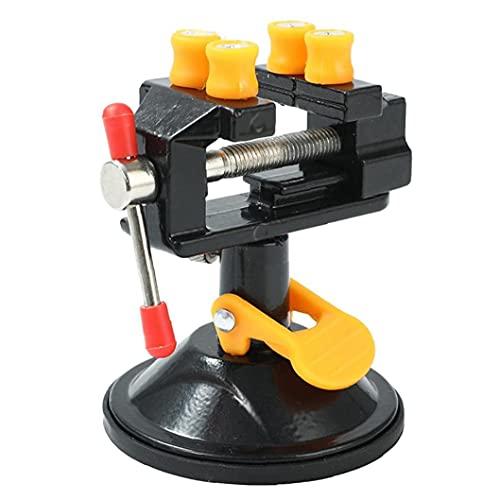 Banco del vector vice universal mini taladro de columna Vise Vise ventosa talla de arte de DIY joyería que hace Manual de hardware