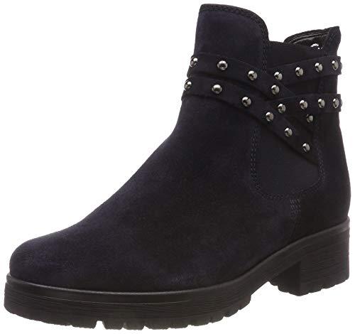 Gabor Shoes Damen Comfort Sport Stiefeletten, Blau (Nightblue (Mel.) 36), 38 EU