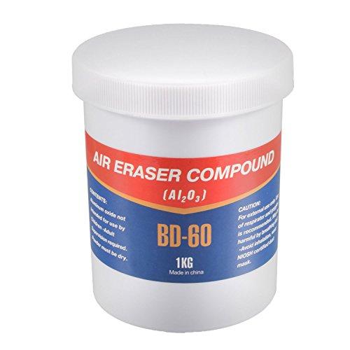 Agora-Tec® Produit de sablage 1kg pour pistolet aérographe AT- Eraser Gun AT-AEG-01