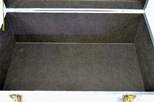 Livitat® Hocker Polsterhocker Suitcase Pouf Truhe Staufach Truhenbank Sitzbank Ottomane LV2083 - 6
