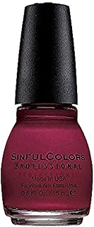 Sinful Colors Professional Nail Polish Enamel, Ruby Ruby [369] 0.50 oz (Pack of 2)