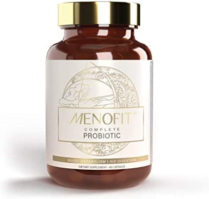 MenoLabs MenoFit Dietary Supplement for Menopause Relief That Helps with Weight Management Supports product image