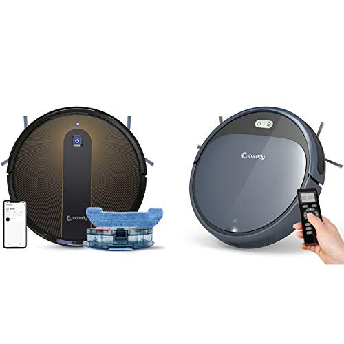 Why Should You Buy Coredy R750 Robot Vacuum Cleaner with R300 Robot Vacuum Cleaner