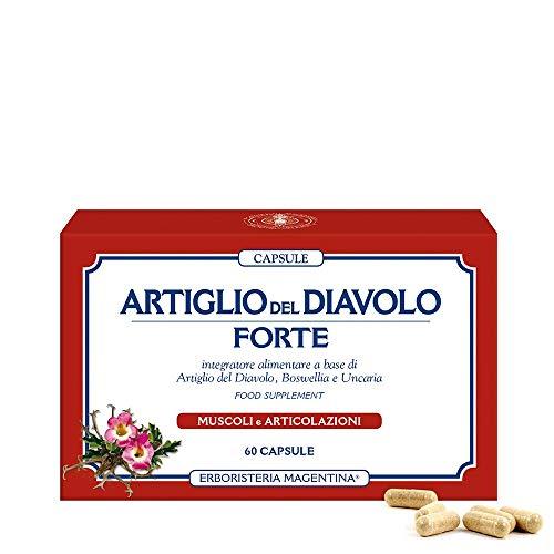 ARTIGLIO DEL DIAVOLO FORTE CAPSULE - 60 capsule con boswellia e uncaria