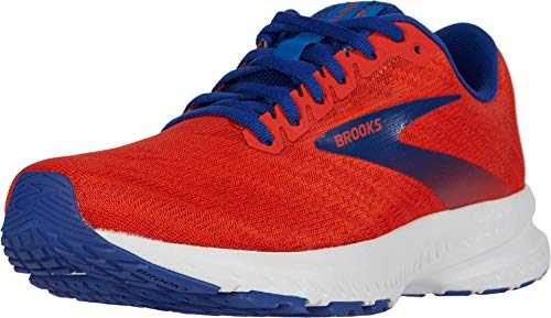 Brooks Launch 7, Scarpa da Corsa Uomo, Cherry Red Mazarine, 42.5 EU