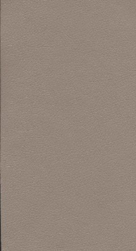 PU Möbel Stoff Bezugsstoff Leder Kunstleder Polster Meterware Stuhl Couch Farbe wählbar (schlamm-grau)