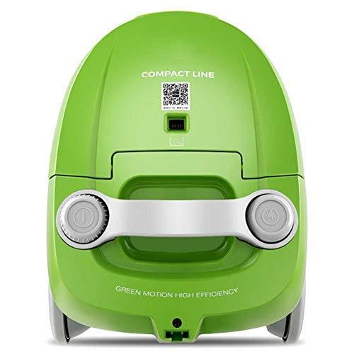 LLKK Cilindro Aspirador Aspirador 800 (W) función seca, limpie el cepillo dos en uno verde