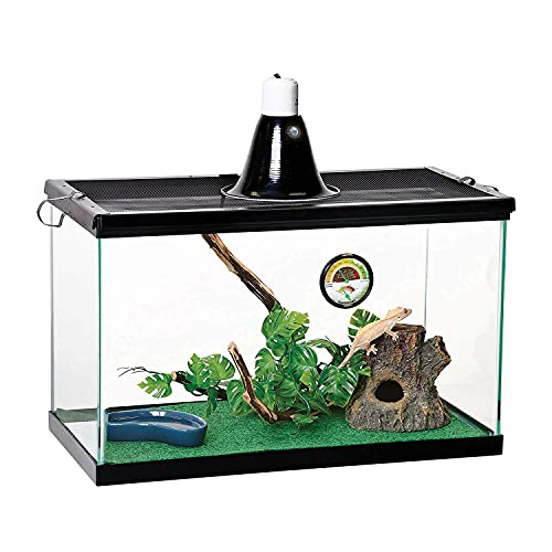 Zilla Reptile Starter Kit 10 With Light And Heat, Tropical