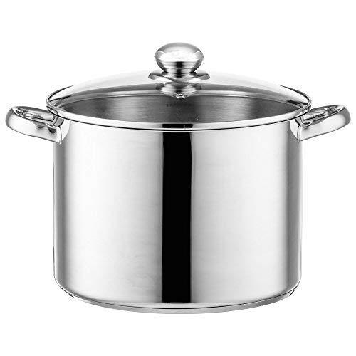 Style'n Cook Bistro Pentola a induzione, Acciaio Inox, 26 cm / 11 L