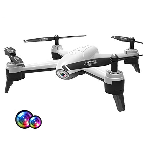J-Love Drone con cámara 4K HD Camera Drone FPV Live Video y GPS Auto Return Compact RC Quadcopter para Principiantes y Profesionales, Vuelo Largo 22 Minutos