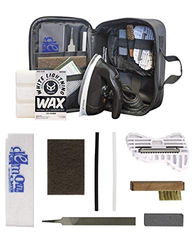 Demon Complete Basic Tune Kit with Wax- Everything Needed to do a Basic Tune and Wax for Your Skis...