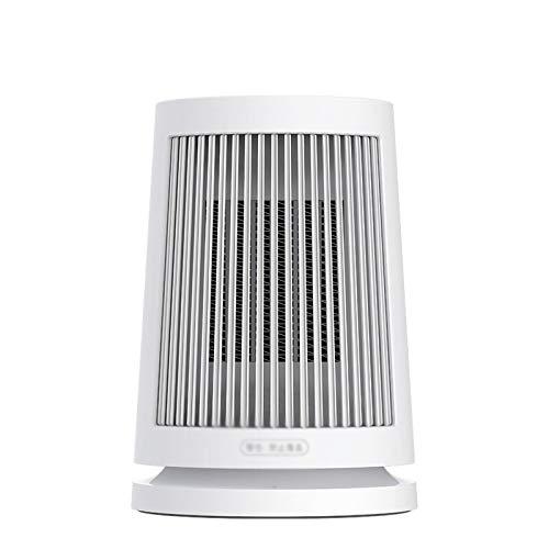 Calefactor Eléctrico Portátil Calentador, calentador eléctrico, radiador eléctrico, calentador de escritorio, oficina en el hogar, calefacción instantánea, viento suave de gran angular Calefactor