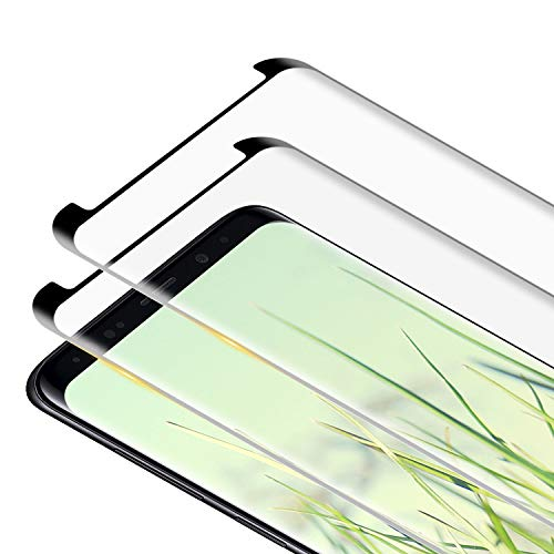 RIIMUHIR Pellicola Protettiva per Samsung Galaxy S8, [2 Pezzi] ad Alta Definizione, Anti-Graffio, Senza Bolle, Facile da Pulire, Samsung S8 Vetro Temperato Pellicola