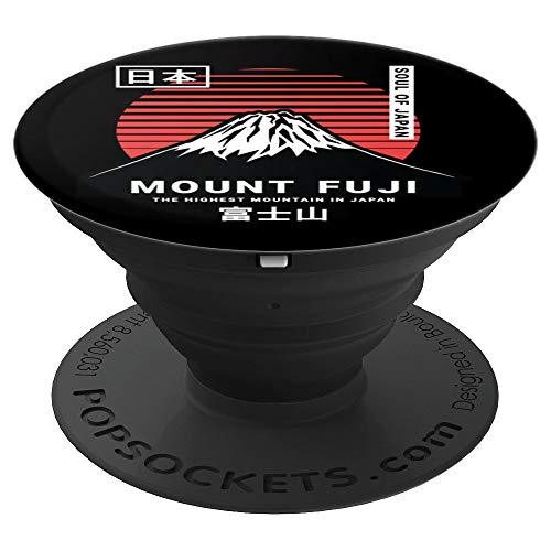 Mount Fuji Tokyo Japan PopSockets Grip and Stand for Phones and Tablets