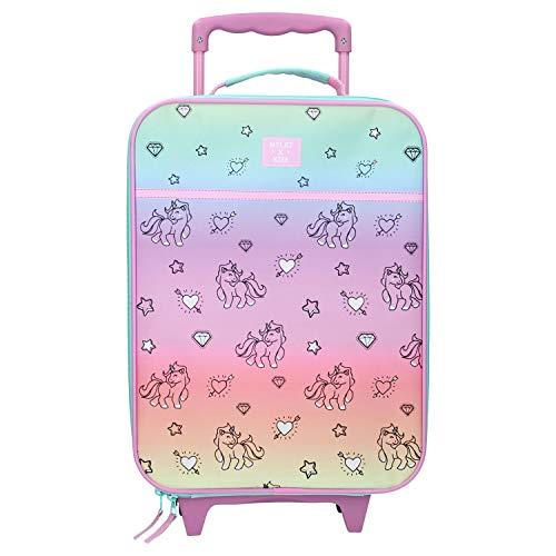 Spielwaren Klee Koffer Trolley Kinderkoffer Handgepäck Kindertrolley Einhorn Pferd Mädchen 8289