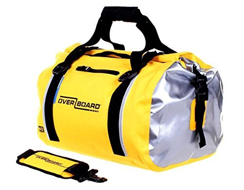 Overboard Classic Waterproof Duffel Bag - Yellow, 40 Litres by Overboard