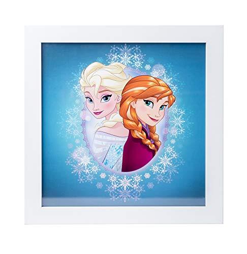 Quadro infantile 30X30 Cm Disney Frozen Anna & Elsa