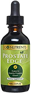 Prostate Edge - Prostate Supplement for Men with Pygeum Africanum, Saw Palmetto Plus More - 2 oz Liquid Drops