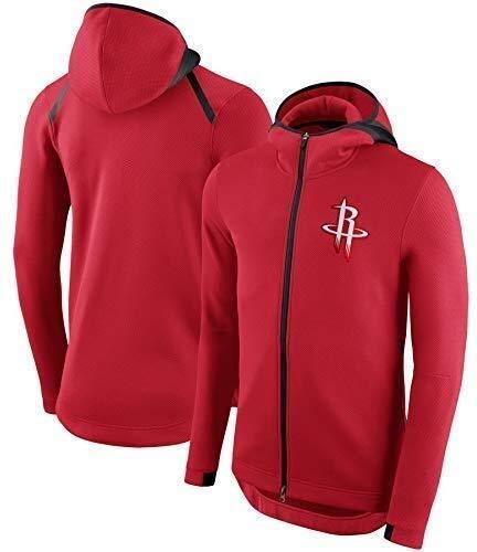ZSPSHOP Sudadera con capucha de la NBA de Boston Celtics para baloncesto (color: rojo b, tamaño: mediano)
