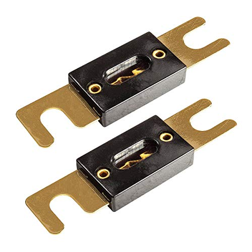 tomzz Audio 5800-038 ANL Sicherung 250A, vergoldete Kontakte, 2 Stück