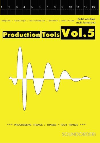 Production Tools Vol.5, Soundlibrary Soundorder, DJ, single samples, drum & instrument loops