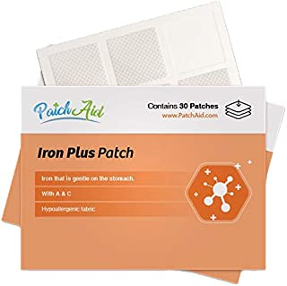 Iron Plus Topical Patch by PatchAid (1-Month Supply)