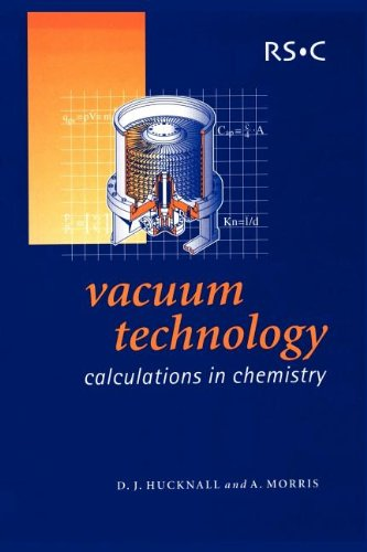Vacuum Technology: Calculations in Chemistry